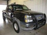2003 Black Chevrolet Silverado 1500 Z71 Extended Cab 4x4 #46776908