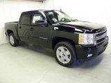 2011 Black Chevrolet Silverado 1500 LTZ Crew Cab #46776920