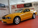 2007 Grabber Orange Ford Mustang GT Premium Coupe #46777266