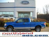 2011 Blue Flame Metallic Ford F150 XLT SuperCab 4x4 #46776053