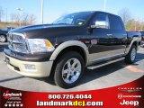 2011 Rugged Brown Pearl Dodge Ram 1500 Laramie Longhorn Crew Cab #46776389