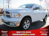 2011 Bright White Dodge Ram 1500 Big Horn Quad Cab #46776394