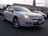 2008 White Suede Ford Fusion SEL V6 AWD #46777303