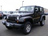 2011 Black Jeep Wrangler Sport 4x4 #46776998