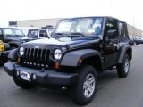 2011 Black Jeep Wrangler Sport 4x4 #46777002
