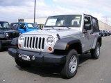 2011 Bright Silver Metallic Jeep Wrangler Sport 4x4 #46777003