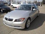 2008 Titanium Silver Metallic BMW 3 Series 335xi Sedan #46776431