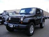 2011 Black Jeep Wrangler Sport S 4x4 #46777007