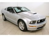 2007 Satin Silver Metallic Ford Mustang GT Premium Coupe #46777035