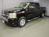 2009 Black Chevrolet Silverado 1500 LT Crew Cab 4x4 #46776702