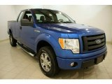 2010 Blue Flame Metallic Ford F150 STX SuperCab 4x4 #46777039