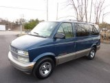 Medium Cadet Blue Metallic Chevrolet Astro in 2002