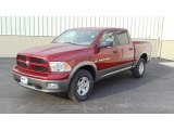 2011 Deep Cherry Red Crystal Pearl Dodge Ram 1500 SLT Outdoorsman Crew Cab 4x4 #46777456
