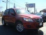2011 Wild Cherry Metallic Volkswagen Tiguan S 4Motion #46777468