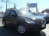 2011 Deep Black Metallic Volkswagen Tiguan SE 4Motion #46777471