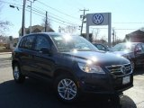 2011 Night Blue Metallic Volkswagen Tiguan SE 4Motion #46777472