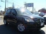 2011 Deep Black Metallic Volkswagen Tiguan S #46777489