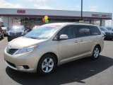 2011 Sandy Beach Metallic Toyota Sienna LE #46776747