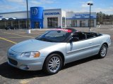 2002 Sterling Blue Satin Glow Chrysler Sebring Limited Convertible #46776749