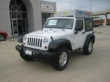 2011 Bright White Jeep Wrangler Sport S 4x4 #46776817