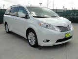 2011 Blizzard White Pearl Toyota Sienna Limited #46869638