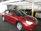 2008 Chrysler Sebring Inferno Red Crystal Pearl