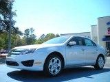 2011 Ingot Silver Metallic Ford Fusion SE #46869476