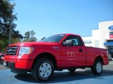 2011 Race Red Ford F150 STX Regular Cab #46869481