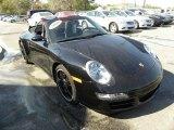 2008 Black Porsche 911 Carrera 4S Cabriolet #46869924