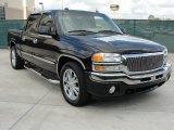 2005 Onyx Black GMC Sierra 1500 SLT Crew Cab #46869660