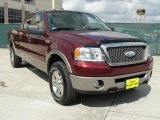 2006 Dark Toreador Red Metallic Ford F150 Lariat SuperCrew 4x4 #46869661