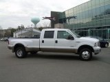 2005 Oxford White Ford F350 Super Duty Lariat Crew Cab 4x4 Dually #46869497