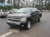 2011 Black Chevrolet Silverado 1500 LT Crew Cab 4x4 #46870159