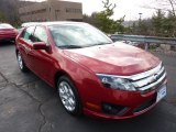 2011 Red Candy Metallic Ford Fusion SE V6 #46869511