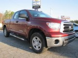 2010 Salsa Red Pearl Toyota Tundra Double Cab 4x4 #46869726