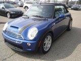 2007 Lightning Blue Metallic Mini Cooper S Convertible #46869574