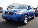 2008 Blue Streak Metallic Toyota Highlander 4WD #46870259