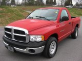 2003 Dodge Ram 1500 Flame Red