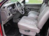 2003 Dodge Ram 1500 ST Regular Cab Taupe Interior