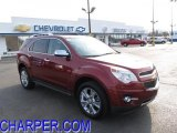 2010 Cardinal Red Metallic Chevrolet Equinox LTZ #46870277