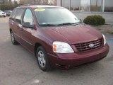 2007 Dark Toreador Red Metallic Ford Freestar SE #46869794