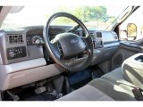 2003 Ford F250 Super Duty FX4 SuperCab 4x4 Medium Flint Grey Interior
