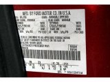 2003 F250 Super Duty Color Code for Toreador Red Metallic - Color Code: FN