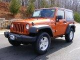 2011 Mango Tango Pearl Jeep Wrangler Sport S 4x4 #46870077