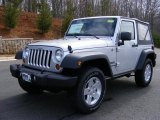 2011 Bright Silver Metallic Jeep Wrangler Sport 4x4 #46870078