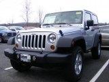 2011 Bright Silver Metallic Jeep Wrangler Sport S 4x4 #46870079