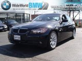 2008 Black Sapphire Metallic BMW 3 Series 328xi Sedan #46936681