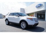 2011 White Platinum Tri-Coat Ford Explorer Limited #46936755