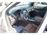 2011 Ford Explorer Limited Pecan/Charcoal Interior