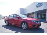 2011 Red Candy Metallic Ford Fusion Sport #46936757